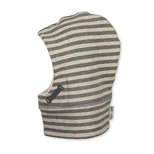 Sterntaler Schalmütze für Jungen mit Streifenmuster, Alter: 12-18 Monate, Größe: 49, Grau