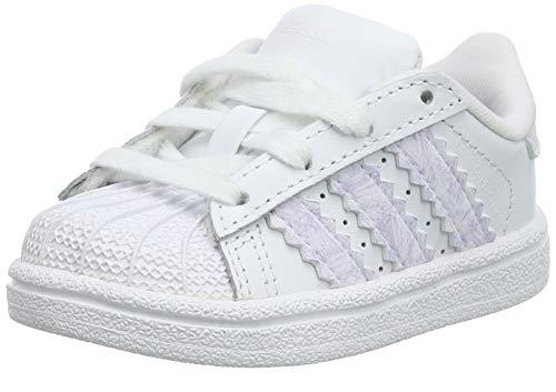 adidas Jungen Unisex Baby Superstar I Gymnastikschuhe, Weiß (FTWR White/FTWR White/FTWR White FTWR White/FTWR White/FTWR White), 27 EU