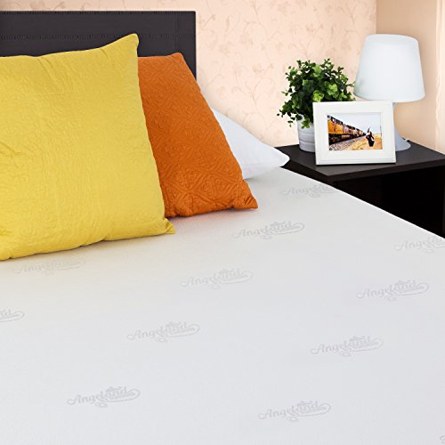 Furinno Angeland Luxury 12-Inch Gel Infused Memory Foam Mattress, Twin,