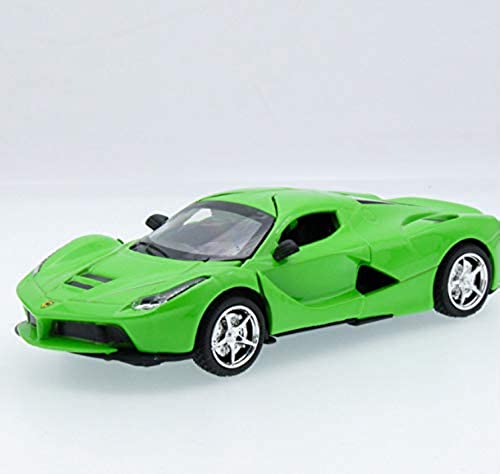 Kanmeipp Die Casting Alloy Luxury Racing Model Toy voiture C