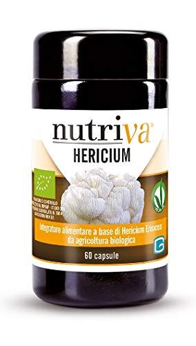 Cabassi & Giuriati Integratore Alimentare Nutriva Hericium, 60 Capsule