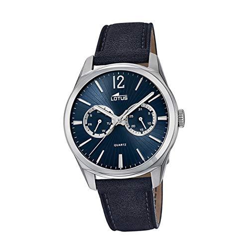 Lotus Multifunktion 18374/3 Reloj de Pulsera para hombres Legibilidad Excelente