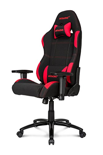 AKRacing K7012 - AK-K7012-BR - Silla Gaming, Color Negro/Rojo