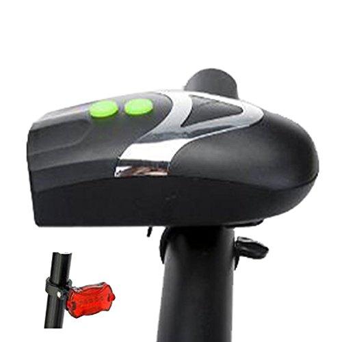Canank Set Luces de Bicicleta Con luces de bocina altas LED de bocina con sistema de liberación rápida
