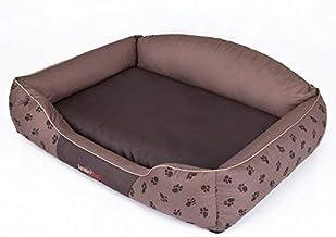 Hobbydog xlata fcb8/hundematte Cuccia Divano per Cani Cesta per Cani Animale Letto Flok 110/cm x 90/cm x 3/cm Colore: Marrone Scuro XL