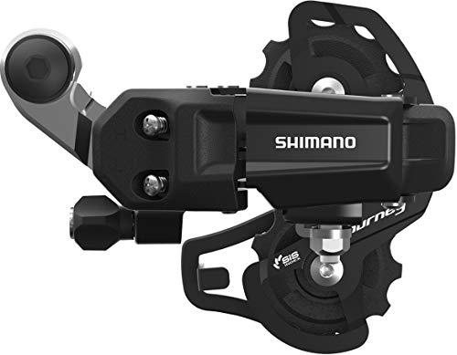 Shimano Tourney/TY Tourney TY200 desviador Trasero, 6/7 velocidades, fijación Directa, Jaula Corta SS