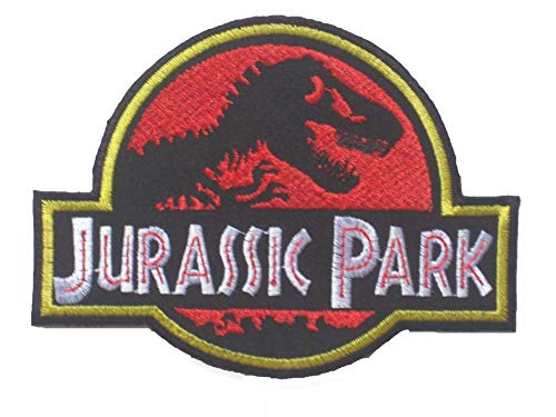 Jurassic Park LOGO OFFICER Sew Ironed Patch Badge Embroidery J-01