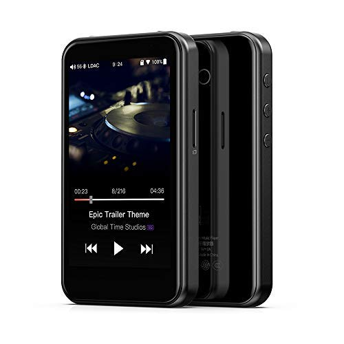 FiiO M6 Hi-Res Lossless DAP Music Player (Black)