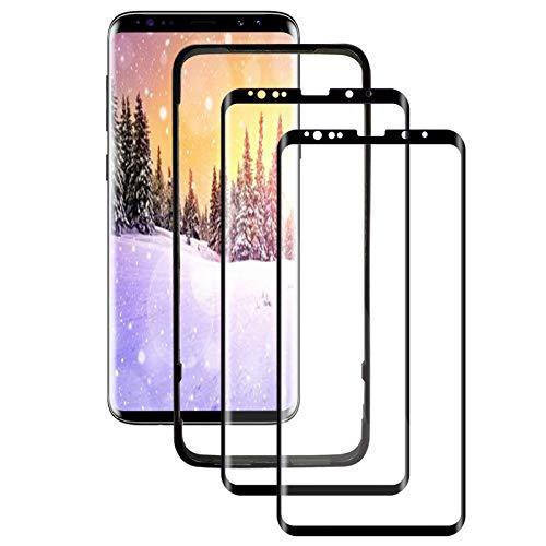 BERYCH [2 Stück] Panzerglas Schutzfolie für Samsung Galaxy S9, Volle Bedeckung, 9H Härte, Anti-Bläschen, High Definitio, Einfach Anzuwenden