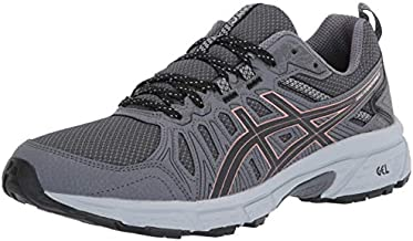 ASICS Women's Gel-Venture 7 Trail Running Shoes, 9, Graphite Grey/Rose Gold