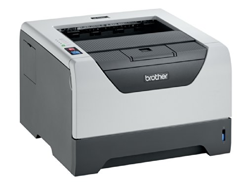 Brother HL-5340DL Monochrome Laserdrucker (1200 x 1200 dpi, USB 2.0) grau