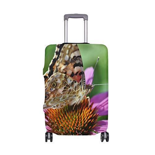 Reisegepäckabdeckung mit Schmetterlingsflügeln, Insektenschutz, Spandex, Reisegepäckabdeckung, für Erwachsene, Damen, Herren, Teenager, passend für 45,7-50,8 cm