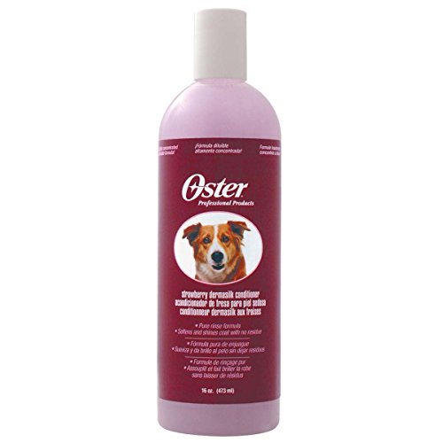 Oster 84929 Fellglanz-Conditioner, Strawberry, Konzentrat 10:1, 473 ml