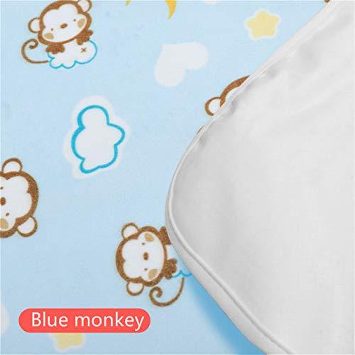 2 sábanas extra impermeables [almohadilla de cuidado menstrual] colchón para niños con aislamiento de orina 35 x 45 cm, 50 x 70 cm, 70 x 90 cm, lavable