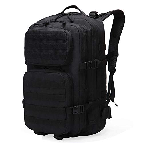 QND,Backpack 60L Backpack Bag Outdoor Waterproof Backpack Hiking Hunting Camping Climbing Large bag,Black