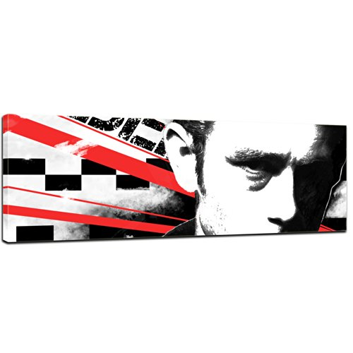 Keilrahmenbild - James Dean - Bild auf Leinwand - 120x40 cm - Leinwandbilder - Graphic & Urban - Schauspieler - Hollywood - Broadway - Sexidol