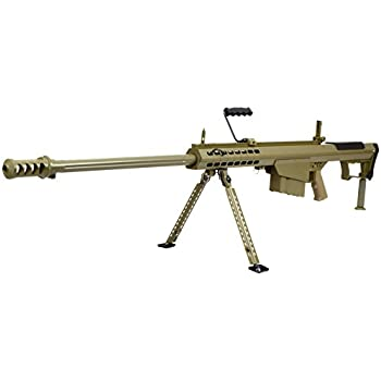 SNOW WOLF バレットM107A1 対物ライフル フルメタル 電動ガン FDE