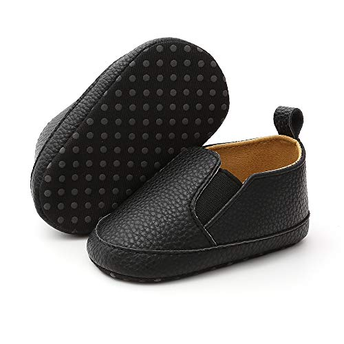 Black Shoes Infant Boy