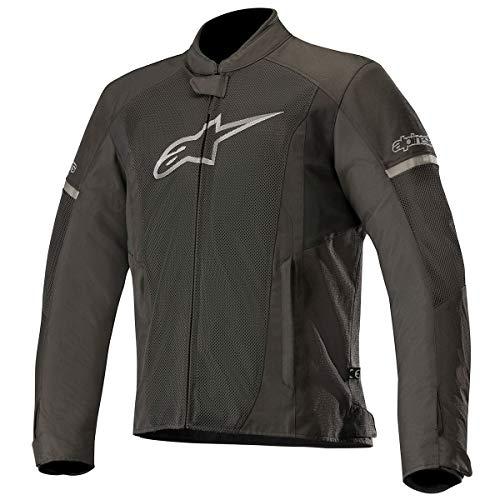 Alpinestars Motorradjacken T-faster Air Jacket Black Black, Schwarz/Schwarz, XL
