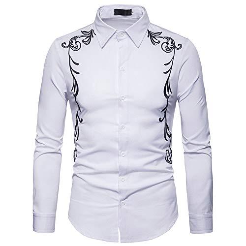 Jinyuan Camisa De Hombre Spring New Men