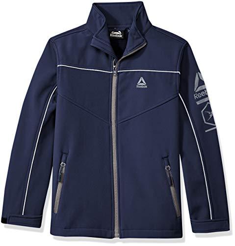 Reebok Jungen Active Outerwear Jacket (More Styles Available) Daunenalternative, Mantel, Navy, 10/12
