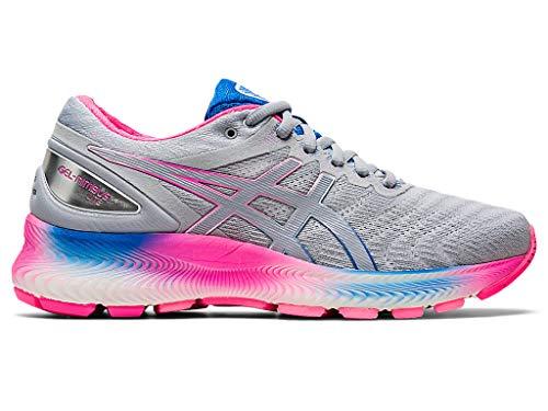 ASICS Women's Gel-Nimbus Lite Running Shoes, 13M, White/Piedmont Grey