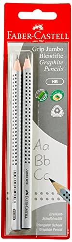 Faber-Castell 111992 - Bleistift Jumbo Grip HB, 2er Set