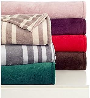 Berkshire So Soft Geo Print Full Queen Blanket Grey Gate Link