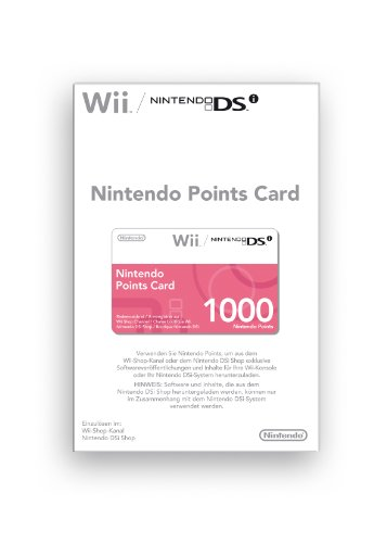 Nintendo Pointscard 1000 [import allemand]