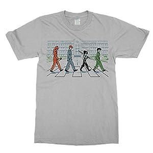 Yu Yu Hakusho Abbey Road Tee Shirt Yusuke Hiei Kuwabara Suzaku