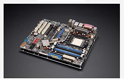 ATX Computer Open Air Case Bracket Acrylic DIY Bare PC Frame for ATX motherbar Support Graphics Card Transparent