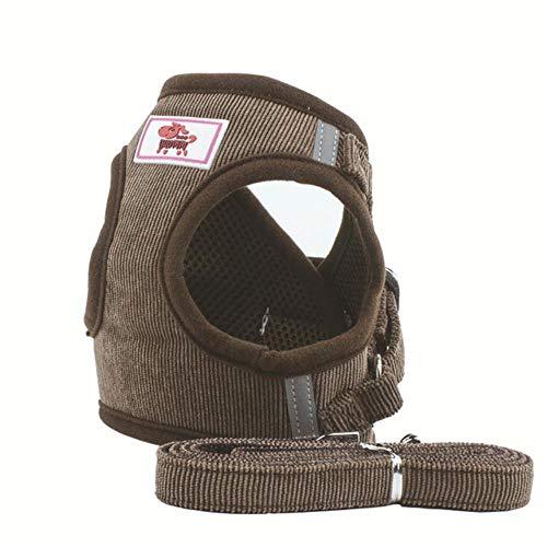KIU Dog Cat Harness Pet Verstelbaar reflecterend vest voor kleine medium puppy mesh harness huisdierbenodigdheden