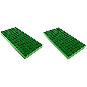 Lego Bauplatte,Platte,8x16 Noppen,grün,hellgrün