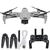 HJRBM Drone GPS Profesional, Mini Drone Quadcopter Plegable con luz LED, Motor sin escobillas Controlador de Velocidad electrónico WiFi Control Remoto Drone Quadcopter para Adultos