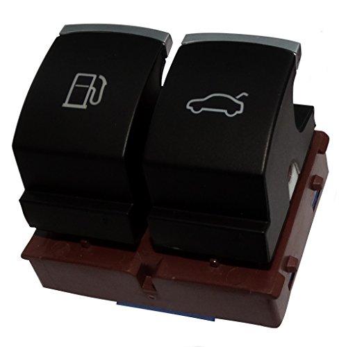 Aerzetix: Schalter Tankklappe Öffnungsknopf für Tanköffnung kompatibel mit 35D959903B für Auto C18709