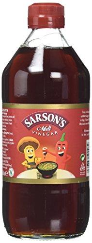 Sarsons Original Malt Vinegar 568ml - Traditioneller englischer Malz-Essig