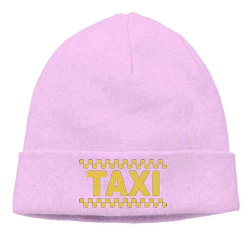 Lawenp Taxi Driver Cab Neutral Warm Winter Hat Knitted Beanie Urinal Hat Skull Hat