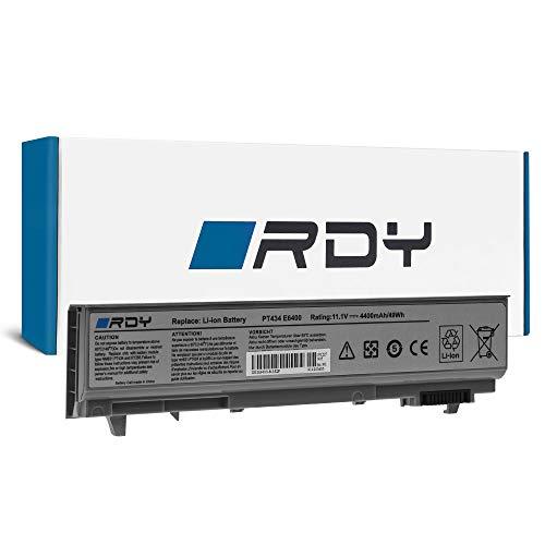 RDY Batería para DELL Precision M4400 M4500 PP27L PP30L PP30LA PP30LA001 Latitude E6400 E6410 E6500 (4400mAh 11.1V)