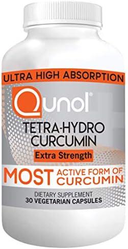 Qunol Turmeric Tetra Hydro Curcumin 400mg Most Active Form Curcuminoid 95 Tetra Hydro Curcuminoids product image