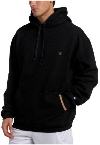 Champion Super Hood® Fleece Men`s Hoodie with Small Embroidered C ...