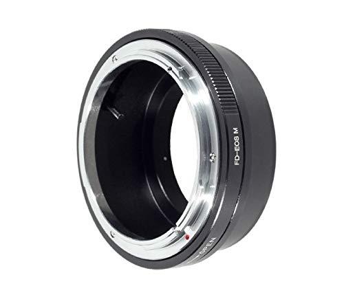 Khalia-Foto Adaptador de objetivo para objetivos Canon FD a cámara Canon EOS M