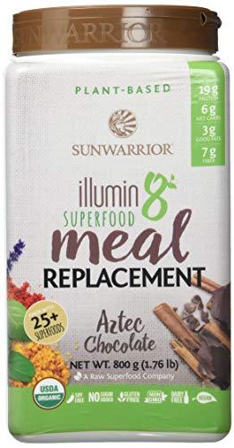 Sunwarrior Illumin8 aztekische Schokolade, Organic, 800 g