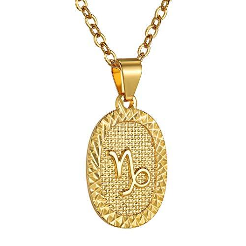 Medalla dorada de Capricornio