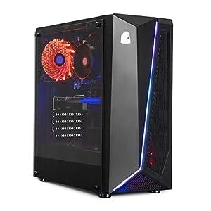 (PRECIO *REBAJAS*) Antes 949€ ahora 646,63€ CPU: INTEL G6400 4,00 GHZ x 2/4 núcleos (turbo) / GRÁFICA: NVIDIA GTX 1050Ti 4GB RAM: 16 Gb 2400 MHZ DDR4 SSD: 480GB SATA3 * Producto 100% Español* Windows 10 de 64 bits versión preliminar, 100% testeado, 2...