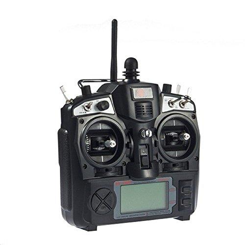 FlySky FS-TH9X 2.4G 9-Kanal Fernbedienung System Sender mit R8B Empfänger für Heli Quadcopter Drones Flugzeug Dia