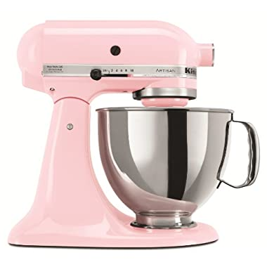 KitchenAid KSM150PSPK Artisan Series 5-Qt. Stand Mixer with Pouring Shield - Pink (Discontinued)