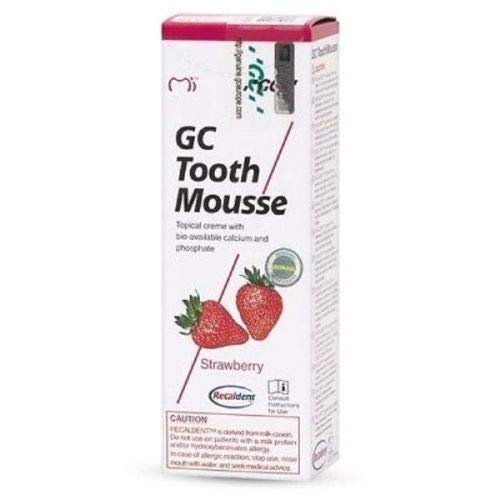 GC Mousse 40g Tube - 1 Pcs - Strawberry Toothpaste
