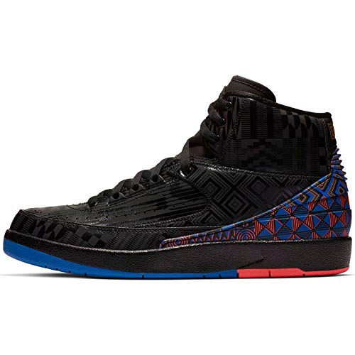 Nike Air Jordan 2 Retro BHM Black History Month BQ7618-007 Basketball Shoes (11)