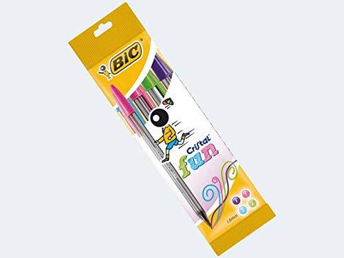 Preisvergleich Produktbild 4 Bicstifte Crystal Fun sortiert im Etui