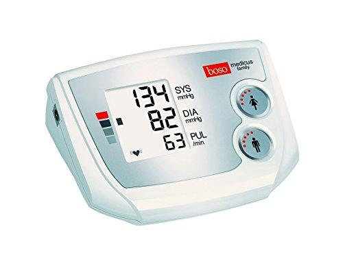 Blutdruckmessgerät boso-medicus family - Familiengerät für präzises Blutdruckmessen am Oberarm